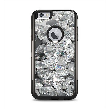 The Scattered Diamonds Apple iPhone 6 Plus Otterbox Commuter Case Skin Set