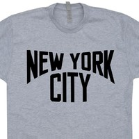 New York City T Shirt NYC T Shirt John Lennon T Shirt Brooklyn NY Shirt