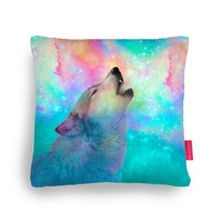 Quirky Illustrated Gifts | Breathing Dreams Like Air Cushion by Soaring Anchor Designs | Ohh Deer