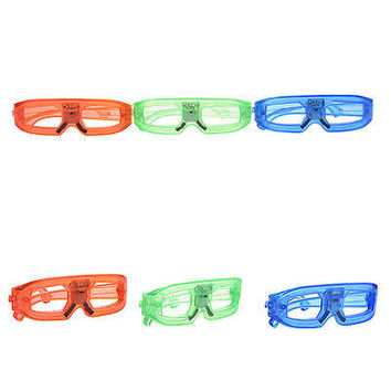 Activate LED Light Glow Club EDM Rave Party Costume Glasses HU