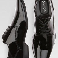 Calvin Klein Brodie Black Tuxedo Shoes - Formal Shoes | Men's Wearhouse