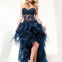 High Low Jasz Couture Party Dress 4809