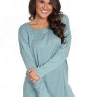 Peachy Keen Top in Seafoam | Monday Dress Boutique