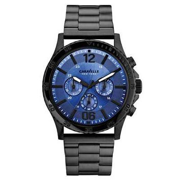 Men's Caravelle New York™ Chronograph Watch (Model: 45A106) - Save on Select Styles - Zales