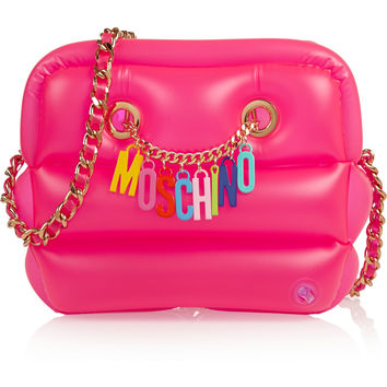 Moschino - Inflatable PVC shoulder bag