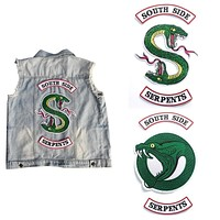 RIVERDALE South Side Serpents patches