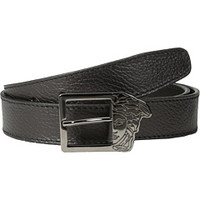 Versace Collection Elk Printed Calf Belt