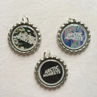 Set Of Three- Arctic Monkeys Logo Charms