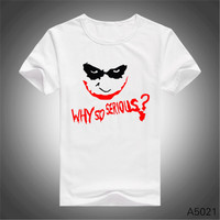 Joker Heath Ledger T-shirt - The Dark Knight Rises