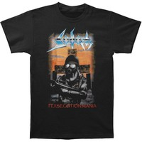 Sodom Men's  Persecution Mania T-shirt Black Rockabilia