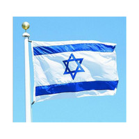 120 * 180 cm flag Various countries in the world Polyester banner flag    Israel