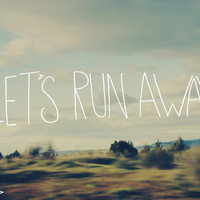 Let's Run Away Art Print by Leah Flores | Society6