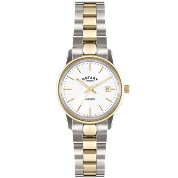 Rotary - Ladies' Avenger Bicolour Stainless Steel Watch LB02736/02