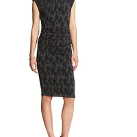 Banana Republic Womens Factory Sleeveless Print Dress