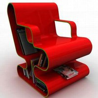 OFO Chair Makes For A Perfect Small Library For Bibliophiles - Homeqn