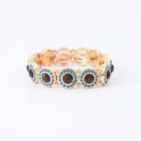 Jeweled Beauty Bracelet | Altar'd State