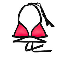 Push-Up Wrap Triangle Bikini Top - PINK - Victoria's Secret