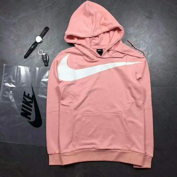 VXL8HQ NIke Women Fashion Long Sleeve Pullover Sweater Sweatshirt Hoodie pink G-A-HRWM
