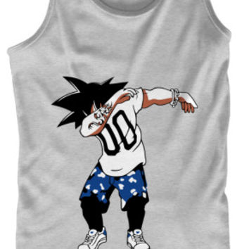 Super Saiyan Goku DAB Dance Tank Top Shirt - PF00233TT