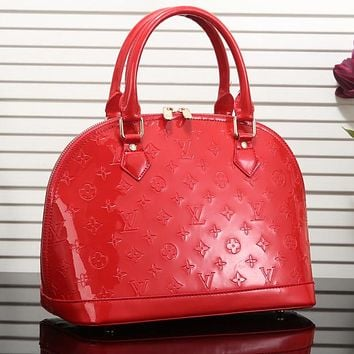 Louis Vuitton Women Fashion Leather Satchel Bag Shoulder Bag Handbag