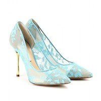 Lace Pumps With Metal Stiletto Heel ◊ Nicholas Kirkwood » mytheresa.com