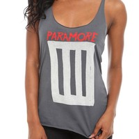Paramore Singles Girls Tank Top - 148545
