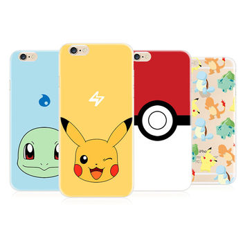 Pokemon Go Phone Case for iphone 5 5s SE 6 6s