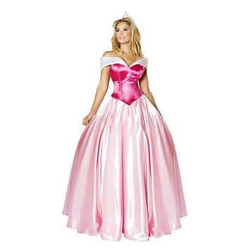 Sexy Picture Perfect Princess Halloween Costume