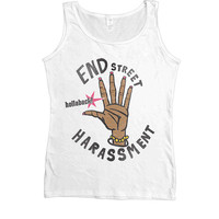 End Street Harassment -- Women's Tanktop