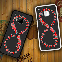 Hakuna Matata Infinity Song F0449 HTC One S X M7 M8 M9, Samsung Galaxy Note 2 3 4 S3 S4 S5 (Mini) S6 S6 Edge