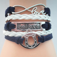 Infinity Love Indianapolis Colts (2016B) Football Bracelet - FREE + Shipping Offer