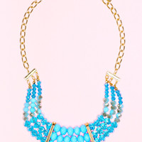 Shades of Blue II Necklace