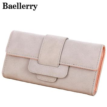 Famous Brand Women Wallets Vintage Wallet Female Purse High Quality Leather Wallet Women Clutch Card Holder WWS081