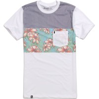 Lira Lush Knit T-Shirt - Mens Tee - Off White -
