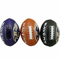 3-Football Softee Set Baltimore Ravens