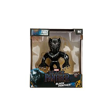 "Jada Diecast Metal Black Panther Movie Version 4"" M47"
