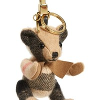 Burberry 'Thomas Bear' Check Cashmere Bag Charm | Nordstrom