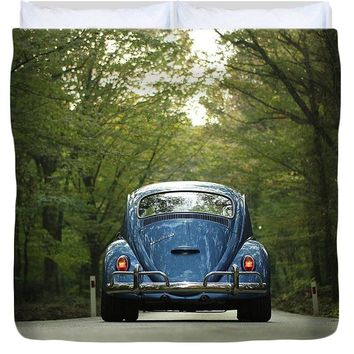 Bug On The Road - Duvet Cover
