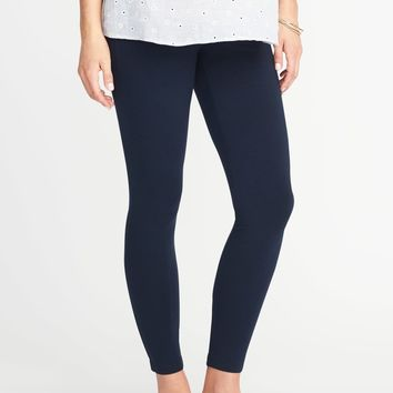 Maternity Full-Panel Leggings |old-navy