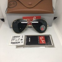 Ray Ban Aviator Classic Gold Polarized Sunglasses 3025 001/58 58mm