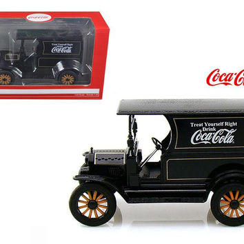 "1917 Ford Model T Delivery ""Coca Cola"" Truck 1-24 Diecast Model by Motor City Classics"