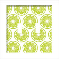 Light Switch Cover - Light Switch Plate Lime Green Funky Pattern