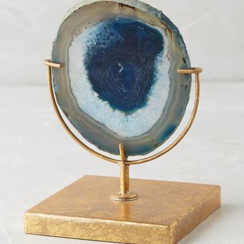 Sliced Agate Stand