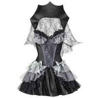 Queen of Darkness Dress - New Age, Spiritual Gifts, Yoga, Wicca, Gothic, Reiki, Celtic, Crystal, Tarot at Pyramid Collection