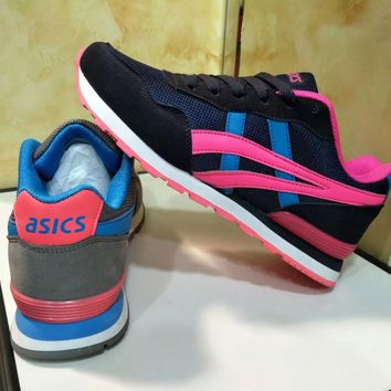 """Asics"" Sport Casual Fashion Retro Multicolor Sneakers Women Running Shoes"