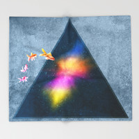 Mission to the Unknown Throw Blanket by Octavia Soldani | Society6