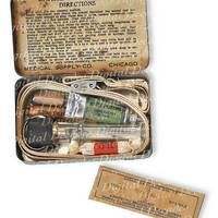Vintage Snake Bite Kit  Medical Oddities Obscure Digital by ktullo