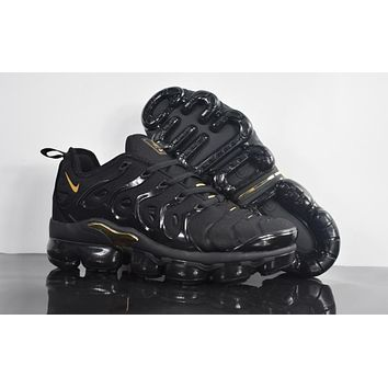 Air VaporMax TN 2018 Plus Black/Gold Sport Shoe 40-45