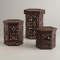 Naveen Pillar Candle Holders - World Market