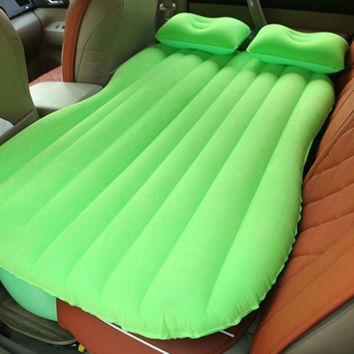 Car Cushion Air Bed Bedroom Beach Lawn Inflation Travel Thicker Mattress Back Seat Extended Mattress